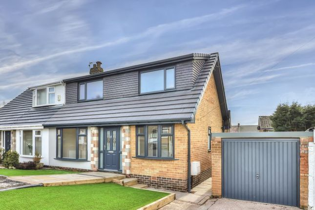 Thumbnail Semi-detached house for sale in Mendip Drive, Milnrow, Rochdale