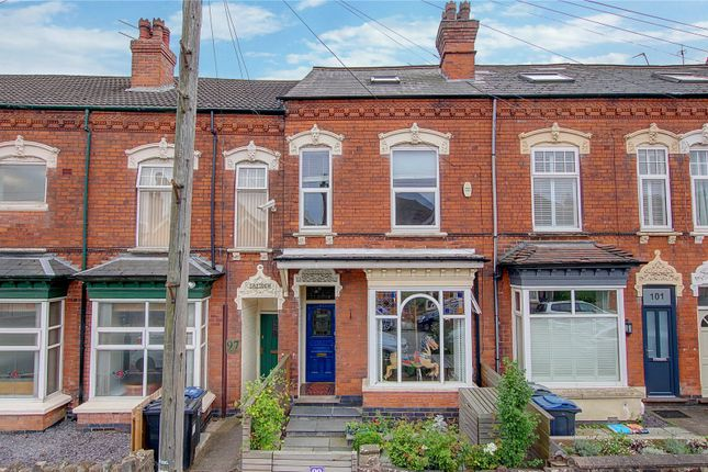 Thumbnail Terraced house for sale in Mary Vale Road, Bournville, Birmingham