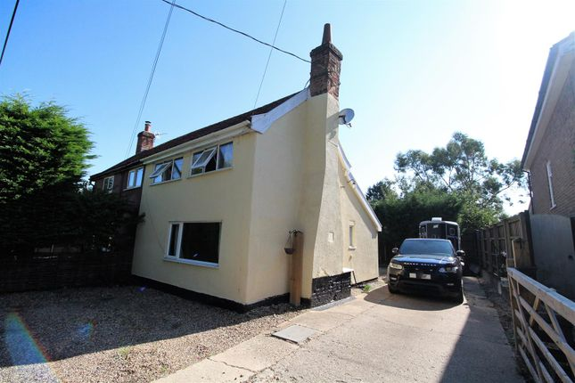 Thumbnail Cottage for sale in Bildeston Road, Combs, Stowmarket