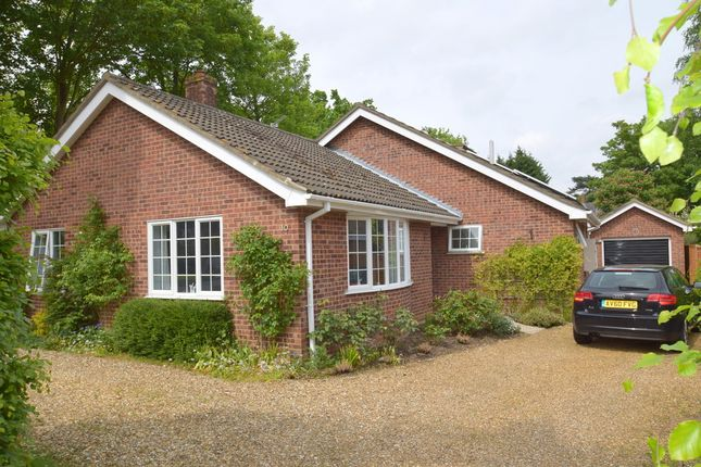 Thumbnail Detached bungalow for sale in Holly Close, Horringer, Bury St. Edmunds