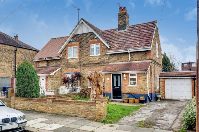 3 bed semi-detached house for sale in East Crescent, Bush Hill Park, Enfield EN1