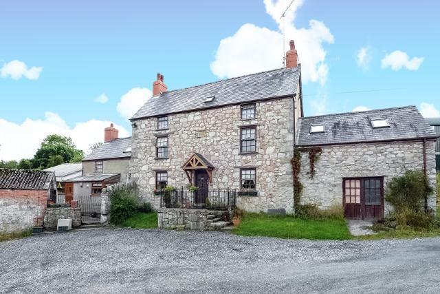Thumbnail Detached house for sale in Llandegla, Wrexham