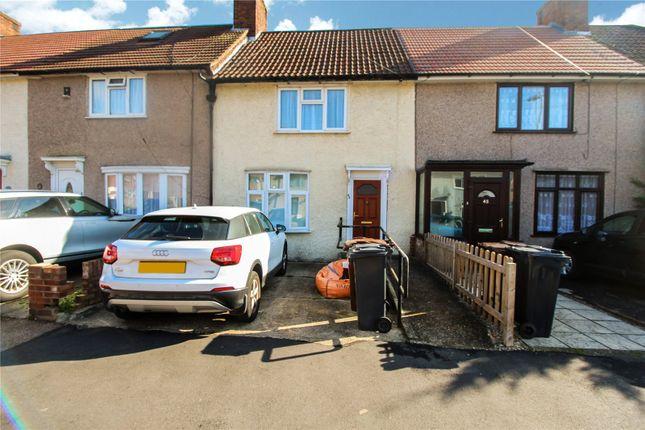 Thumbnail Terraced house to rent in Highgrove Road, Dagenham, Essex