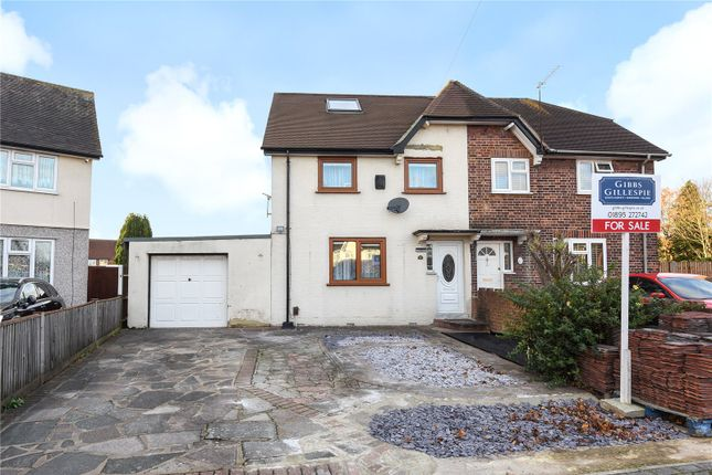 Thumbnail Semi-detached house for sale in Collingwood Road, Hillingdon, Middlesex