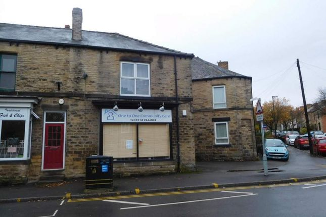 Retail premises to let in 23 Crookes, Sheffield