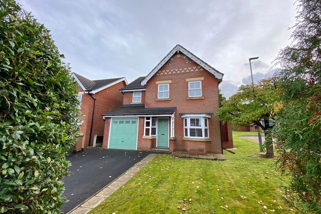 Thumbnail Detached house to rent in Kestrel Close, Congleton