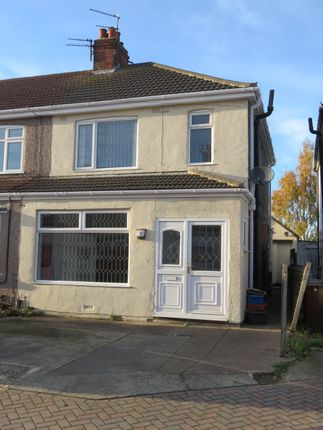 Thumbnail End terrace house to rent in Goring Place, Cleethorpes