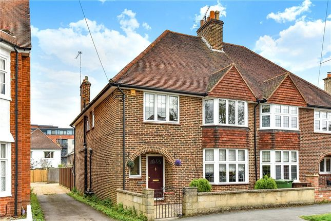 Thumbnail Semi-detached house for sale in Grand Avenue, Camberley, Surrey