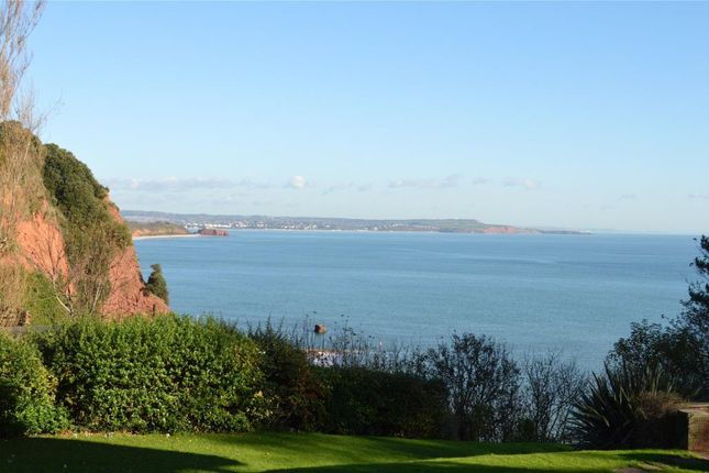 Thumbnail Flat for sale in The Cliffs, Old Teignmouth Road, Dawlish, Devon