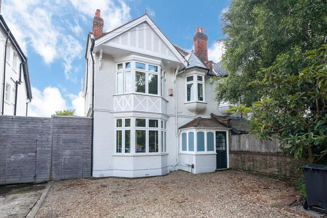 Thumbnail Semi-detached house for sale in Coombe Lane West, Coombe, Kingston Upon Thames