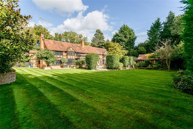 Thumbnail Detached house for sale in Christchurch Road, Virginia Water, Surrey