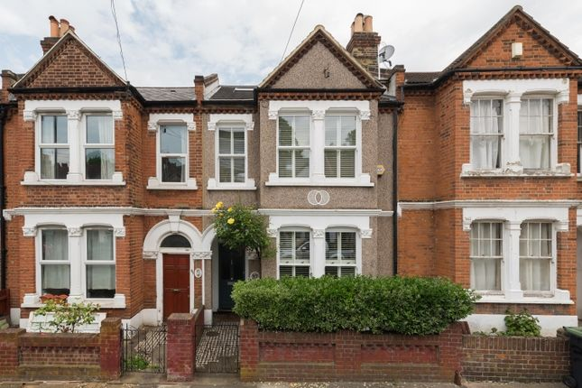 Thumbnail Terraced house for sale in Overcliff Road, London