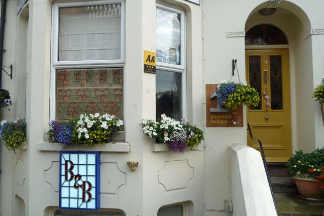 Thumbnail Terraced house for sale in 14 Sondes Road, Deal
