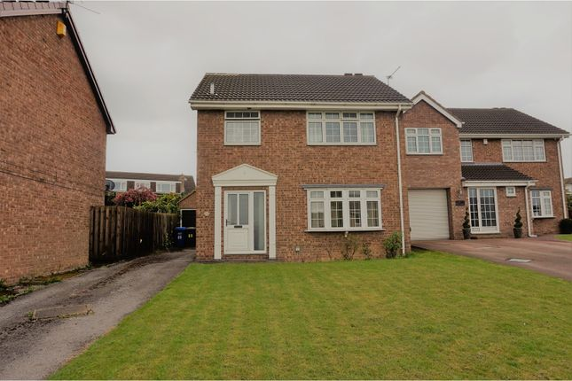 Thumbnail Detached house for sale in St. Philips Drive, Hasland, Chesterfield