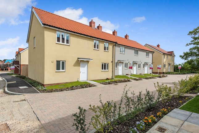 Thumbnail Detached house for sale in Stirling Close, Chedburgh, Bury St. Edmunds