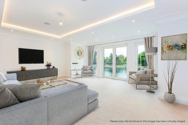 Thumbnail Town house to rent in Mill Lane, Taplow, Maidenhead