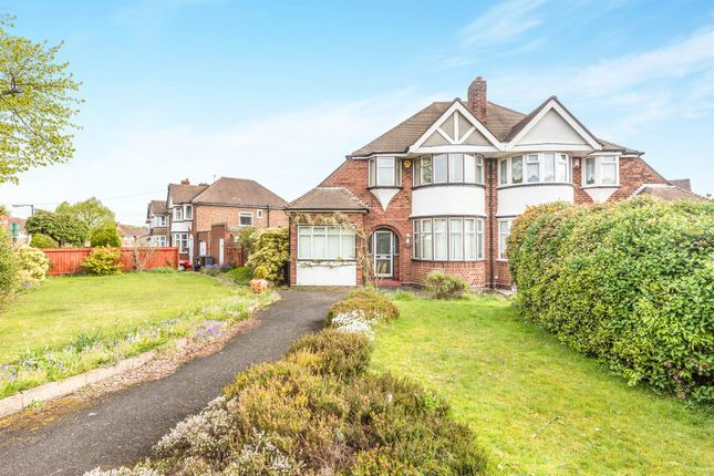 Thumbnail Semi-detached house for sale in Coverdale Road, Solihull
