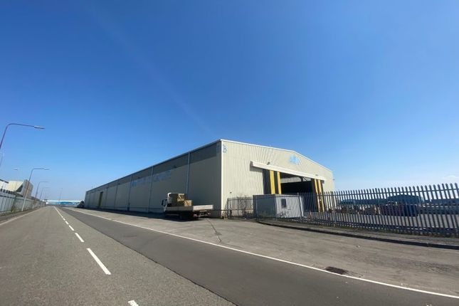 Thumbnail Industrial to let in B Shed Warehouse, Cargo Road, Port Of Cardiff