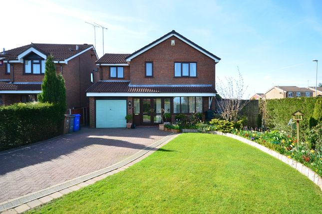 Thumbnail Detached house for sale in Ashurst Grove, Meir Park, Stoke-On-Trent
