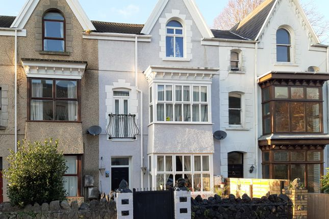 5 bed terraced house for sale in Eaton Crescent, Uplands, Swansea SA1