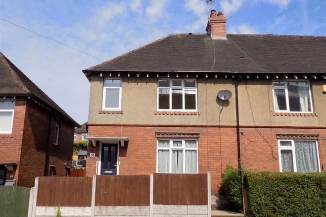 Thumbnail Semi-detached house to rent in Station Street, Leek, Staffordshire