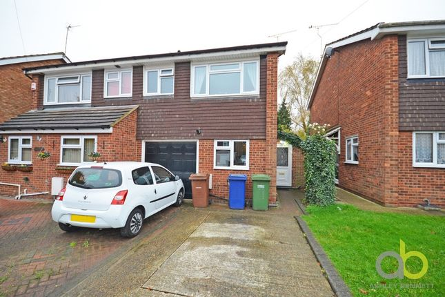 Thumbnail Semi-detached house for sale in Church Road Residential Park Homes, Church Road, Corringham, Stanford-Le-Hope