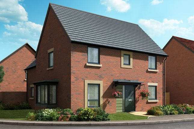 "Thumbnail Detached house for sale in ""The Lancaster"" at Cautley Drive, Killinghall, Harrogate"