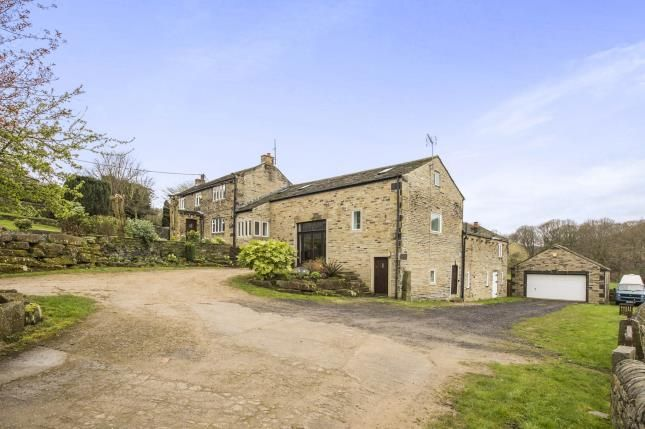 Thumbnail Detached house for sale in Shibden Hall Road, Halifax, West Yorkshire