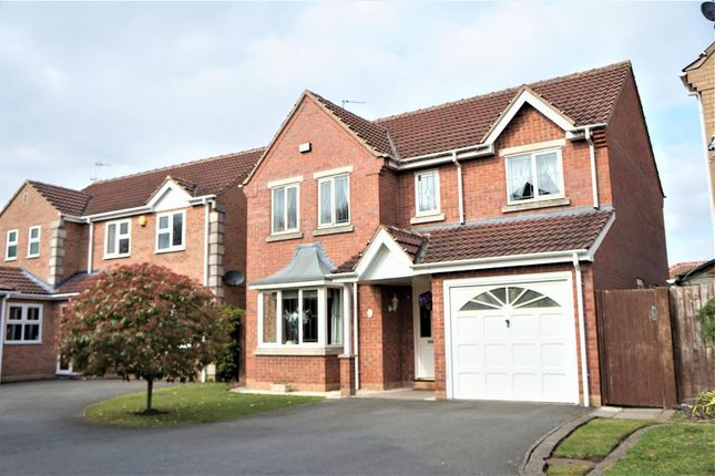 Thumbnail Detached house for sale in Juno Close, Glenfield, Leicester