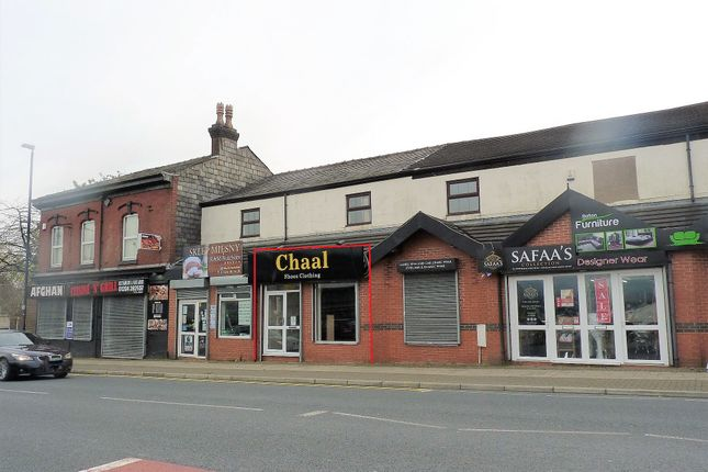 Retail premises to let in Derby Street, Bolton