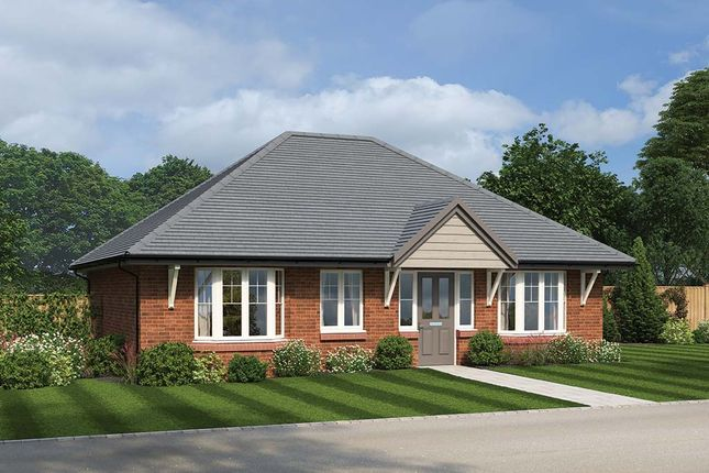 Thumbnail Detached bungalow for sale in River View, Highfield Road, Lydney, Gloucestershire