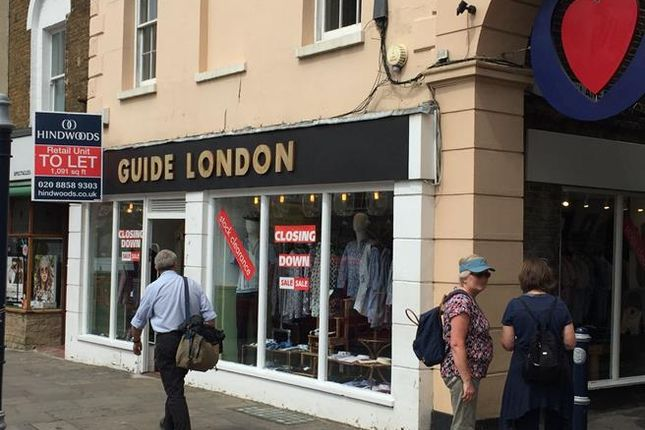 Thumbnail Retail premises to let in 12-14 Greenwich Church Street, Greenwich, London