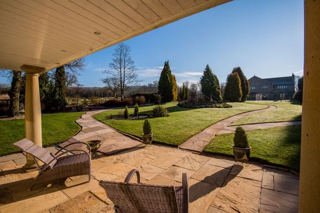 Thumbnail Detached house for sale in 2 Acre Plot, 6, 000 Sq Ft Detached Residence, Whalley, Clitheroe