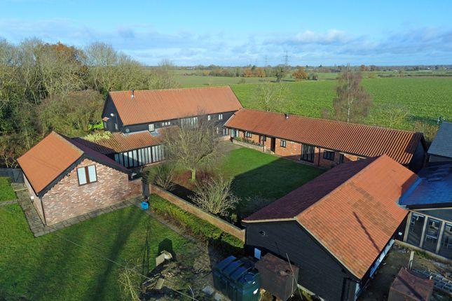 Aerial View of Hoggars Road, Mendlesham, Stowmarket, Suffolk IP14