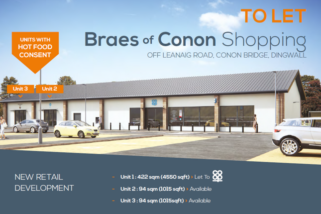 Thumbnail Retail premises to let in Braes Of Conon, Conon Bridge, Dingwall
