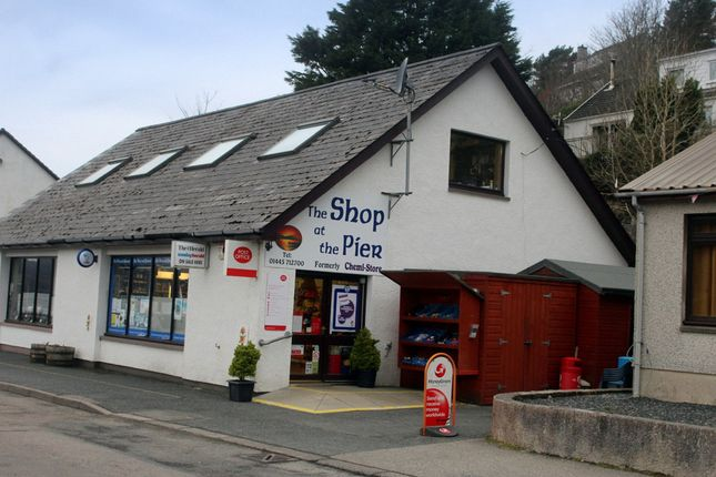Thumbnail Retail premises for sale in The Shop At The Pier Rd, Gairloch