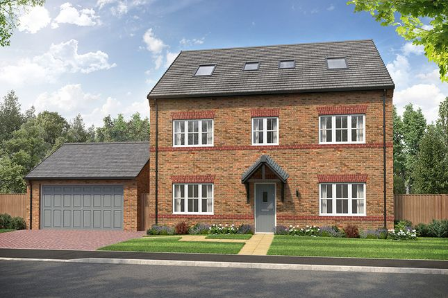 """Thumbnail Detached house for sale in """"Sutton"""" at Heron Drive, Fulwood, Preston"""