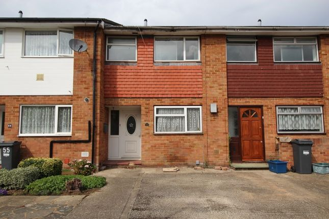 Thumbnail Terraced house for sale in Peninsular Close, Feltham