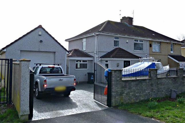 Thumbnail Semi-detached house for sale in Broad Walk, Knowle, Bristol