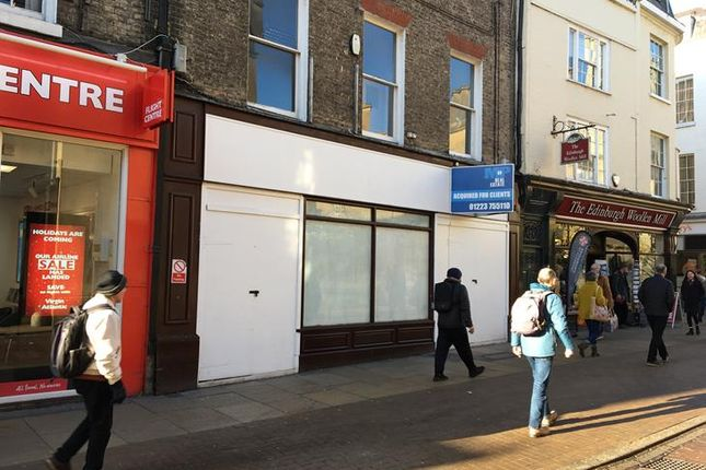 Thumbnail Retail premises to let in 49 Sidney Street, Cambridge