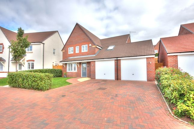 Detached house for sale in Lambourne Close, Evesham