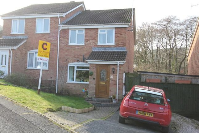 Thumbnail Semi-detached house for sale in Coniston Road, Ogwell, Newton Abbot