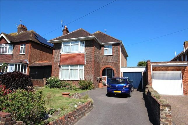 Thumbnail Detached house for sale in Sompting Road, Broadwater, Worthing