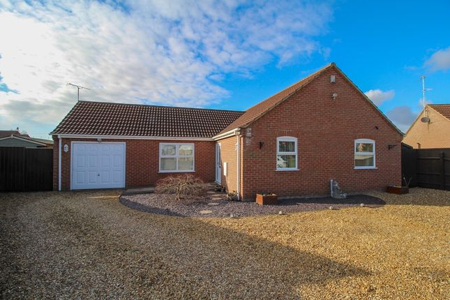 Thumbnail Detached bungalow for sale in Mill Close, Terrington St. Clement, King's Lynn
