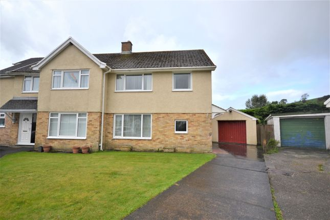 3 bed semi-detached house to rent in Ystrad Close, Johnstown, Carmarthen, Carmarthenshire SA31
