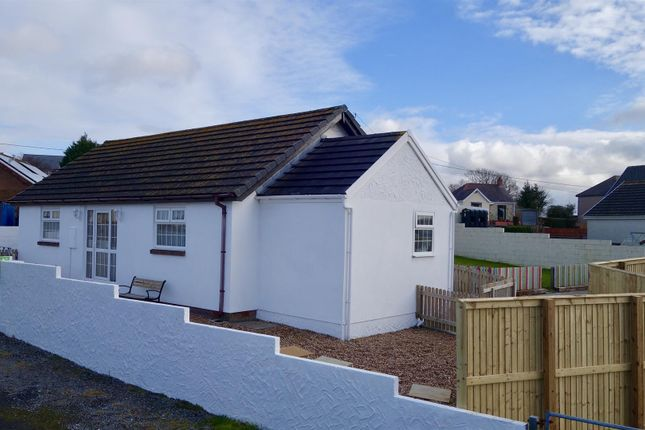 Thumbnail Bungalow for sale in Heol Rhosybonwen, Cross Hands, Llanelli