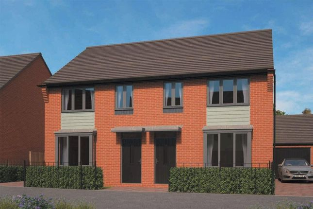 Thumbnail Semi-detached house for sale in Archford Eastfields, Lawley Village, Telford