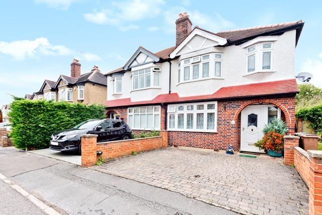 Thumbnail Semi-detached house for sale in Elmwood Close, Wallington