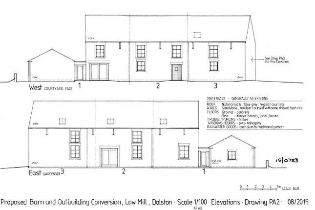 3 bed barn conversion for sale in Barn 3, Low Mill, Dalston, Carlisle, Cumbria