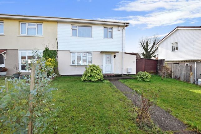 Thumbnail Semi-detached house to rent in Bourne Road, Gravesend